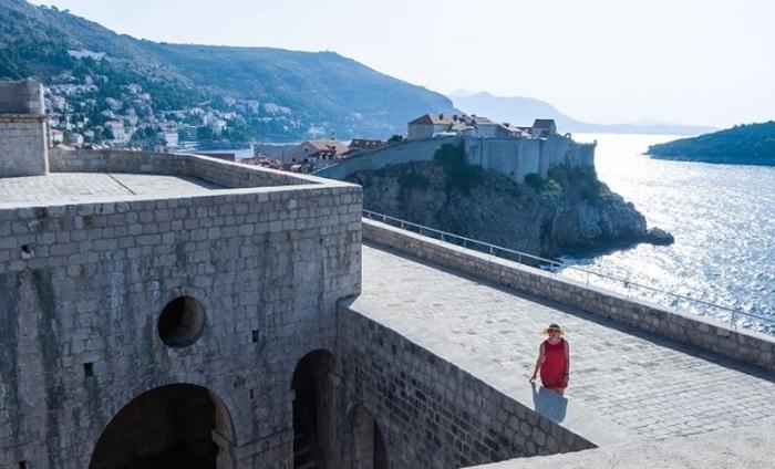 Форт Ловриенац, Дубровник. | Фото: openmonte.com.