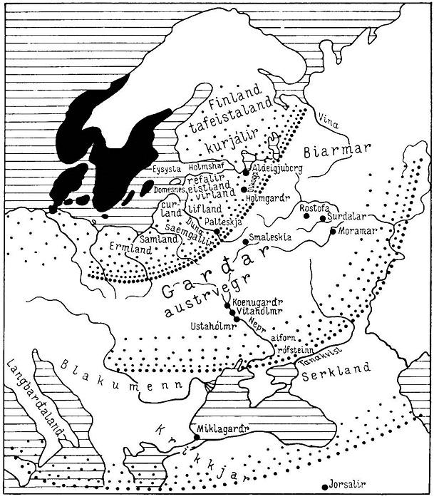 Скандинавы называли Россию Грдарики. | Фото: booksonline.com.ua.