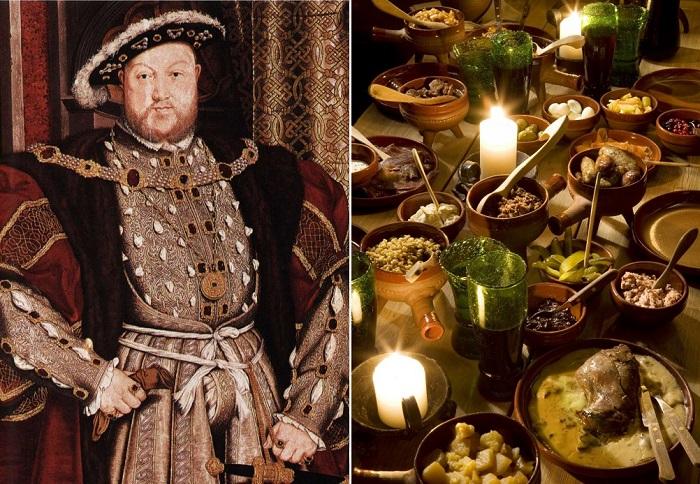 Генрих VIII Тюдор - король Англии.