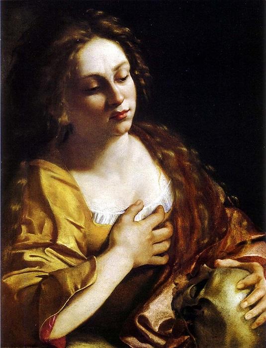Кающаяся Магдалена. А. Джентилески, 1631 год. | Фото: artgalleryabc.com.