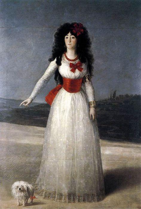 Портрет герцогини Альба. | Фото: cvetamira.ru.