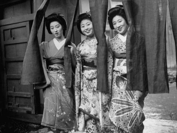 Японские гейши. | Фото: allday.com.
