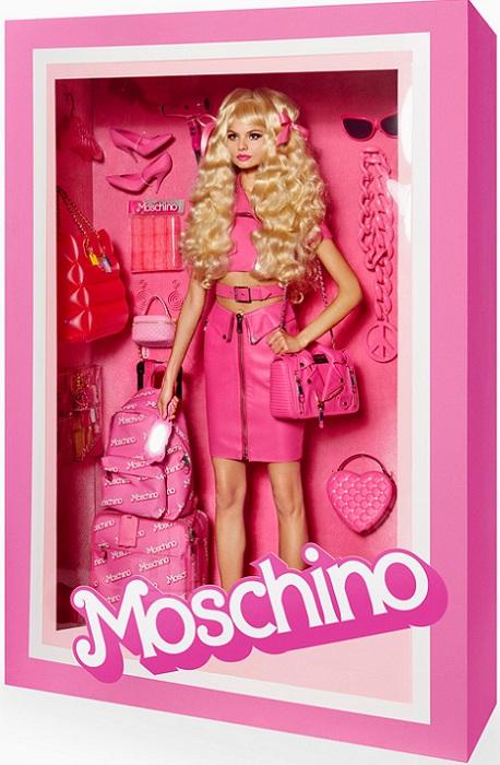 Барби от Moschino.