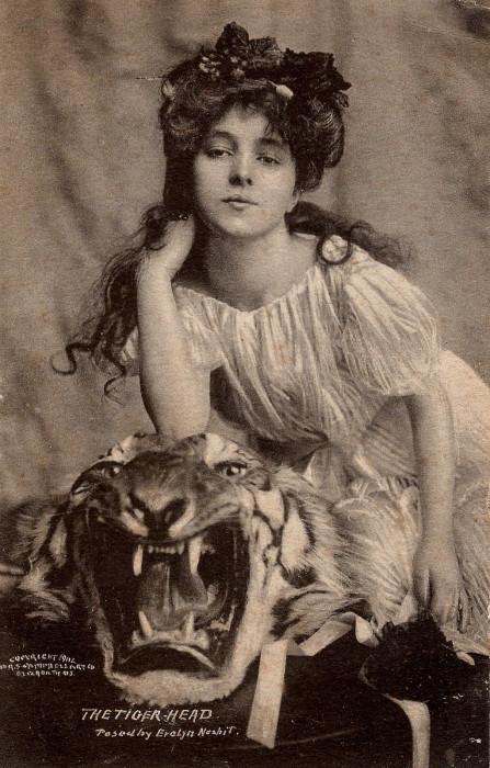 Мисс Эвелин Несбит.   Фото: flickr.com.