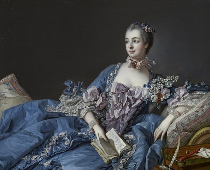 Маркиза де Помпадур. Франсуа Буше, 1758 год.