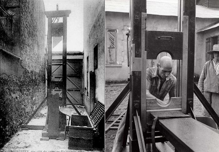 Гильотина - «машина смерти», созданная из самых гуманных соображений.