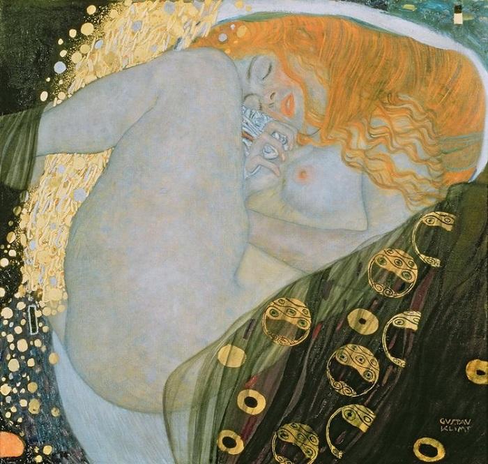 «Даная». Густав Климт.   Фото: mymodernmet.