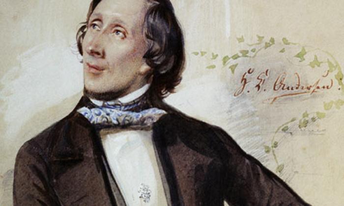 Ганс Христиан Андерсен - известный детский писатель.