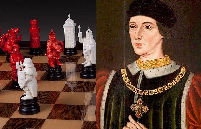 Король Англии Генрих VI, из-за которого началась война Белой и Алой Роз.