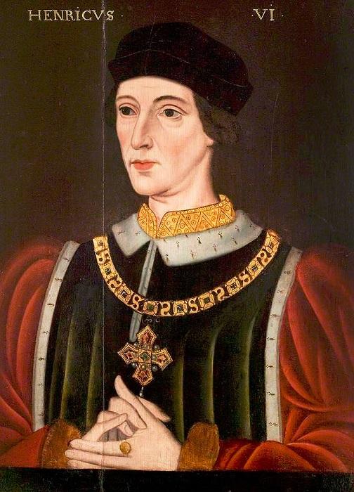 Король Англии и Франции Генрих VI. | Фото: luminarium.org.
