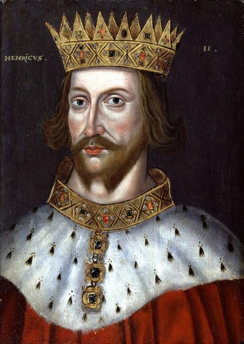 Английский король Генрих II Плантагенет. | Фото: 1.bp.blogspot.com.