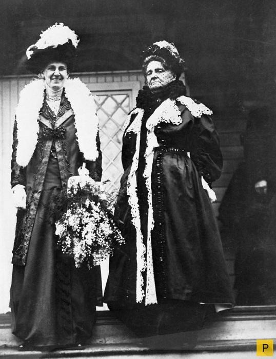Генриетта Грин с дочерью Сильвией. | Фото: pressa.tv.