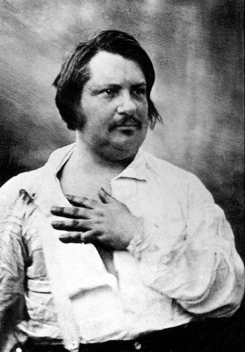 Французский писатель Оноре де Бальзак. | Фото: libropatas.com.