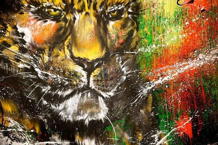 Творчество китайского художника Hua Tunan.