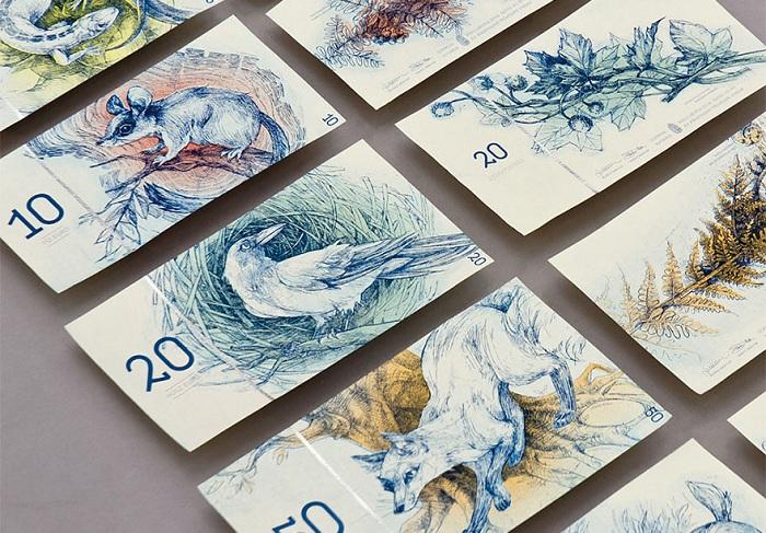 Креативные венгерские евро (ненастоящие).
