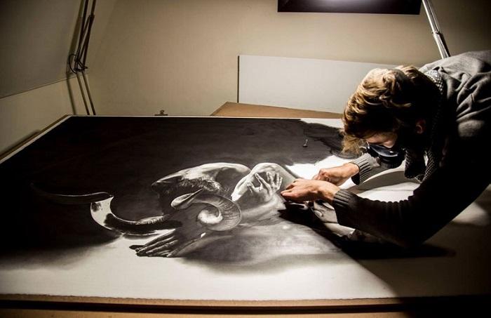 Гиперреалистичные работы художника-самоучки. | Фото: twistedsifter.com.