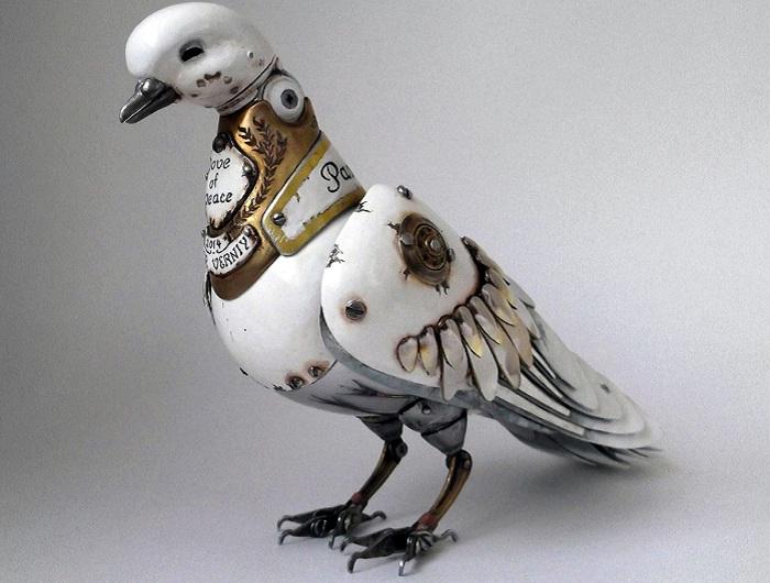 Оригинальная работа скульптора Игоря Верного.