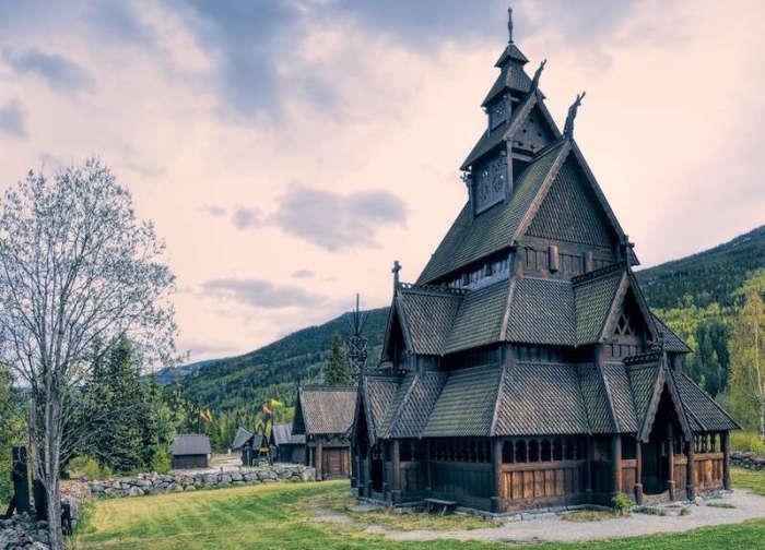 Ставкирка из Гуля (Норвегия). | Фото: chert-poberi.ru.