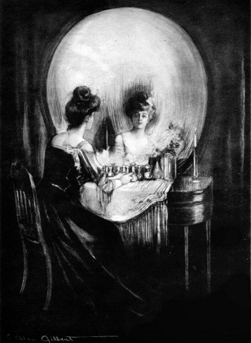 All is Vanity. Чарльз Аллан Гилберт. 1892 г.