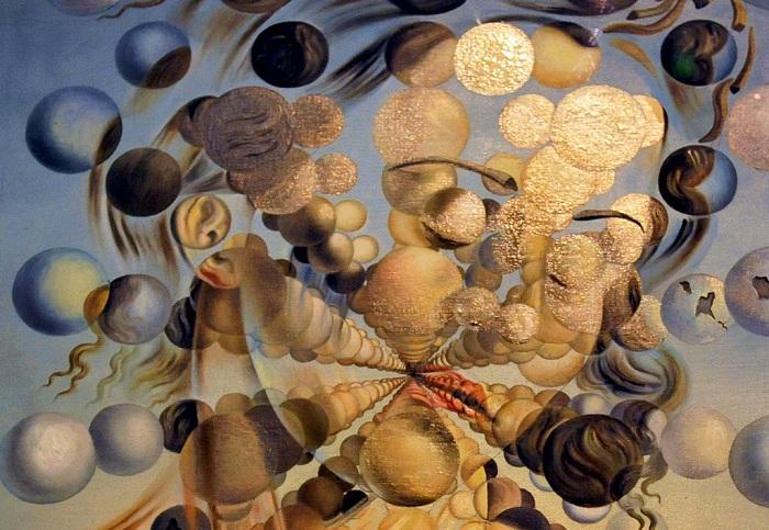 Галатея со сферами. Сальвадор Дали, 1952 г.