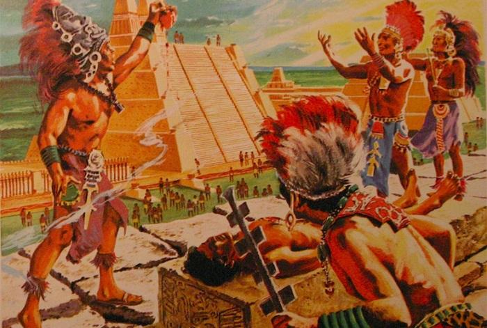 Индейцы устраивали кровожадные жертвоприношения. | Фото: diletant.media.