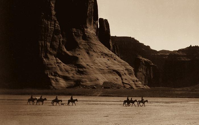Снимок, сделанный фотографом Edward Sheriff Curtis.