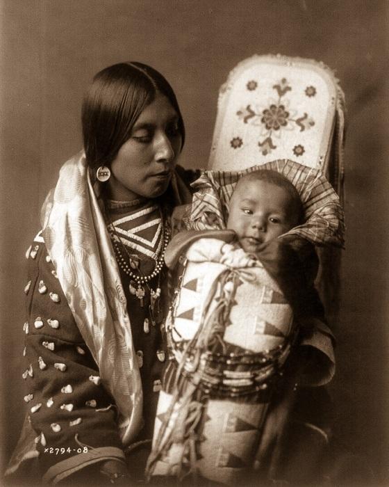 Аутентичные индейские племена.