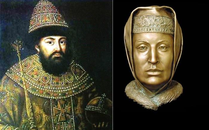 Великий князь Иван III и его жена Софья Палеолог.