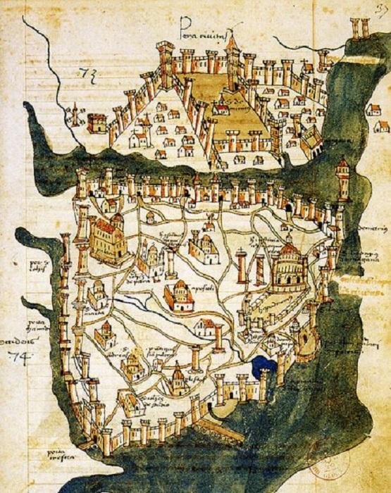 Стамбул вначале называли Византией, а затем Константинополем. | Фото: mixstuff.ru.