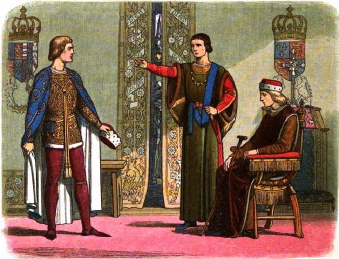 Генрих VI -<br> король, который практически не принимал участия в руководстве государством. Фото: ranker.com.