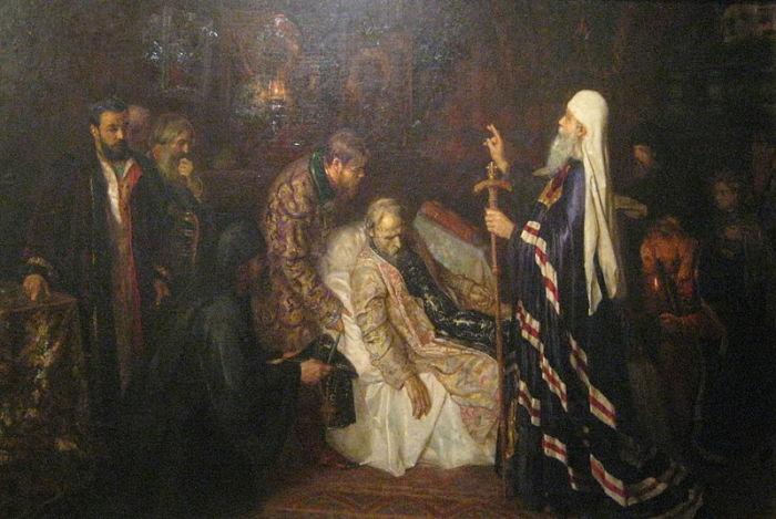 Смерть Ивана Грозного. | Фото: imagesait.ru.