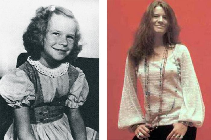 Дженис Джоплин в детстве. | Фото: 24smi.org.