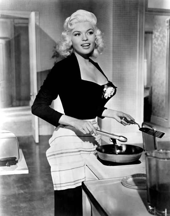 Джейн Мэнсфилд - голливудская дива 1950-х годов. | Фото: izuminki.com.