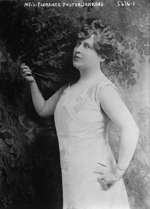 Флоренс Фостер Дженкинс - оперная певица, достигшая успеха, не имея ни слуха, ни голоса.   Фото: thevintagenews.com.