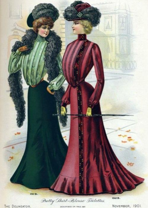 Во второй половине XIX века эталоном женской красоты считалась пышная грудь. | Фото: godzilla.org.ua.