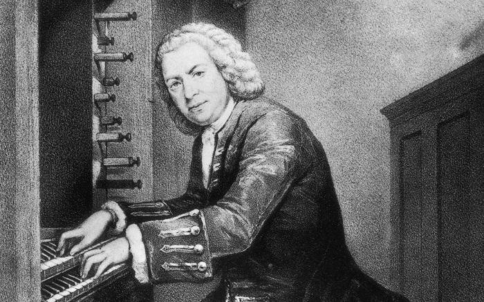 Немецкий композитор Иоганн Себастьян Бах (1685-1750). | Фото  school4you.ru.
