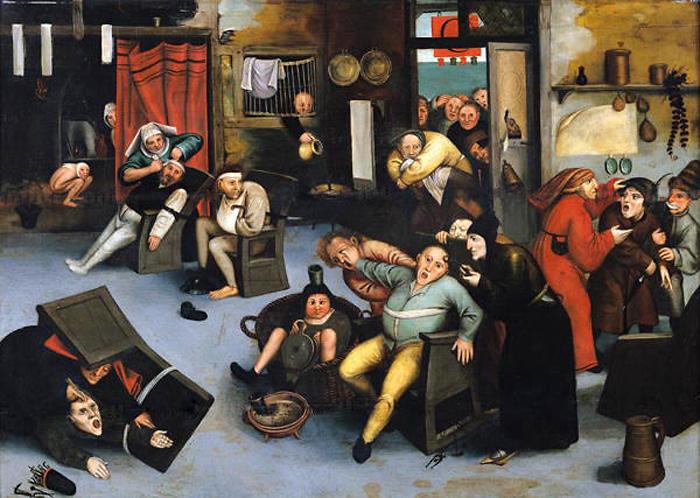 Питер Брейгель-старший. Ок. 1550 год.