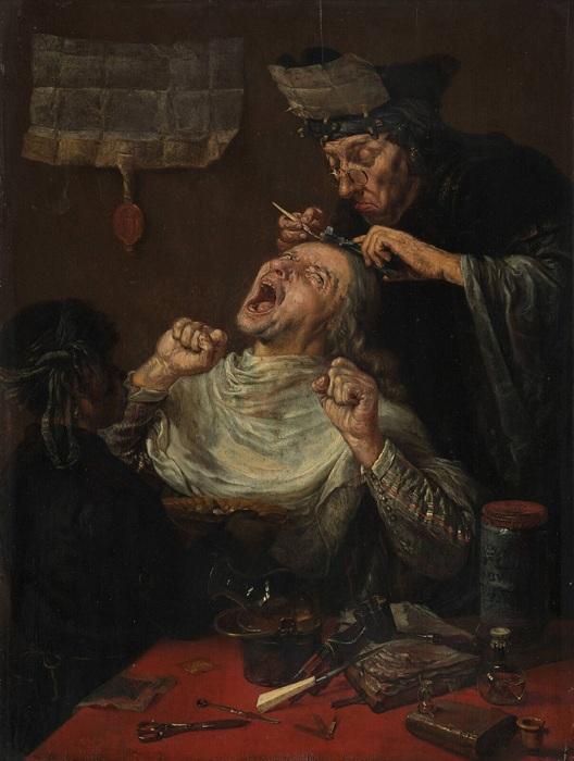 Картина голландского живописца 17 века.