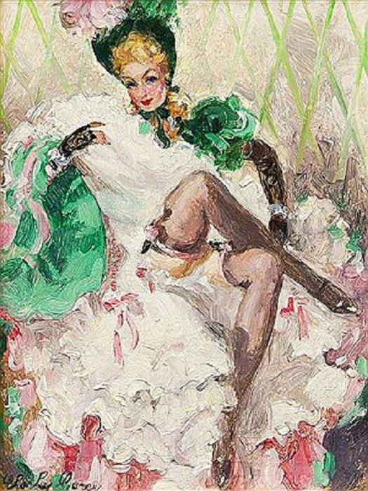 Танцовщица. А. Тулуз-Лотрек. | Фото: colors.life.