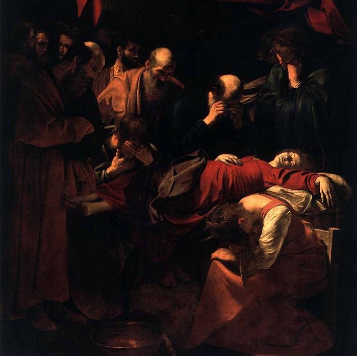 Успение Богоматери. Караваджо, 1601-1606 гг. | Фото: foma.ru.