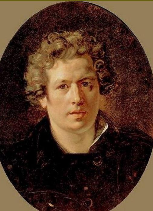 Автопортрет. К. Брюллов, 1834 год.    Фото: photo.sibnet.ru.