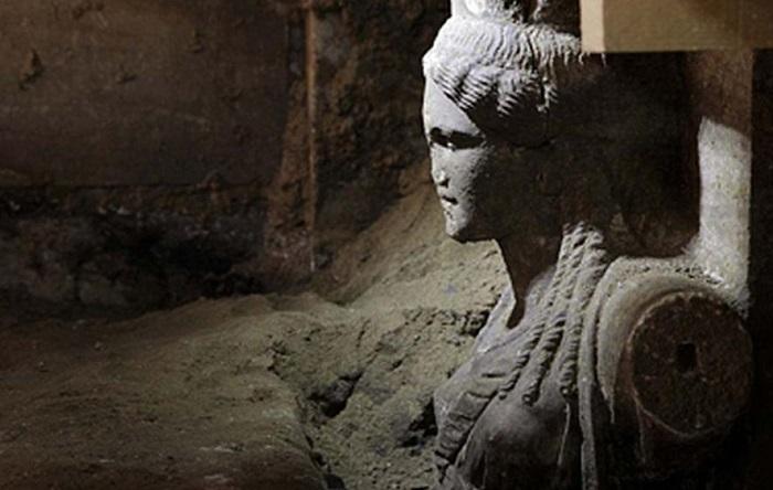 Возможная гробница Александра Македонского. | Фото: static.euronews.com.