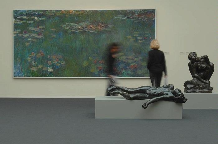 Моне и Роден в коллекции музея. Художественный музей Цюриха. | Фото: img.myswitzerland.com.