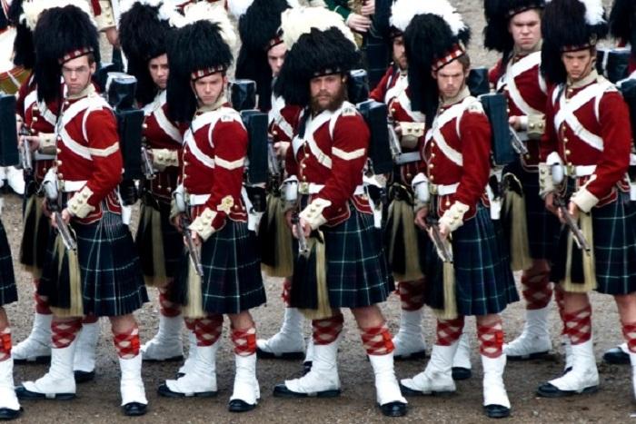 Парадная военная форма шотландцев. | Фото: diletant.media.