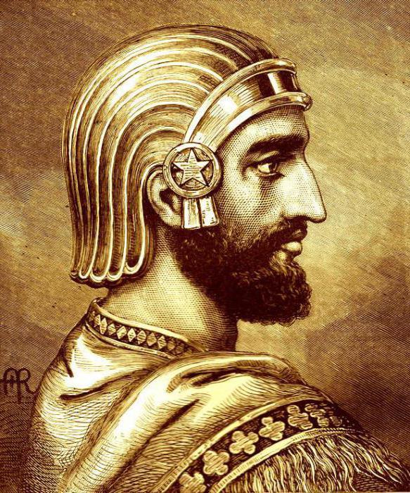Персидский царь Кир II.