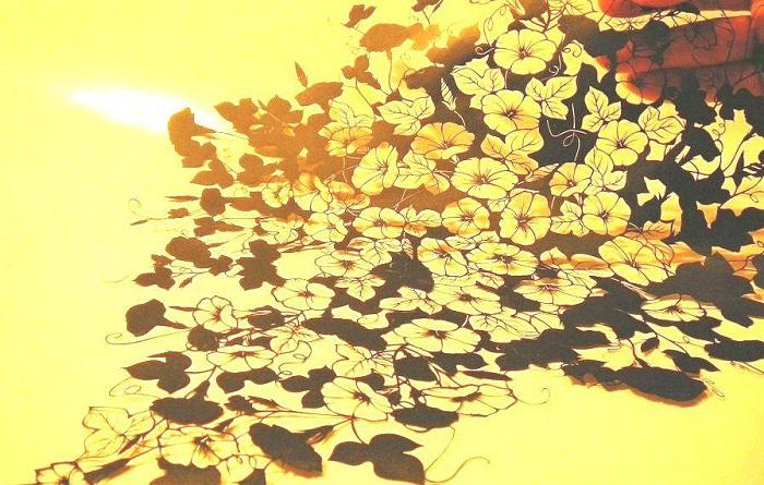 Узор, сделанный японским художником-самоучкой.