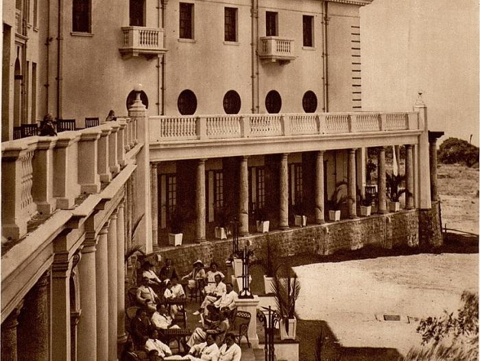 Дома отдыха в колониальном Мозамбике.