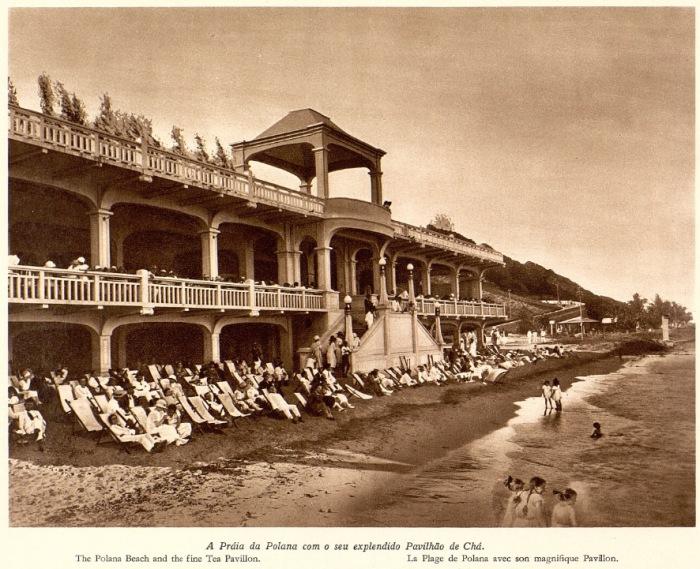 Курорт на африканском побережье Индийского океана. Мозамбик, 1920-е гг.