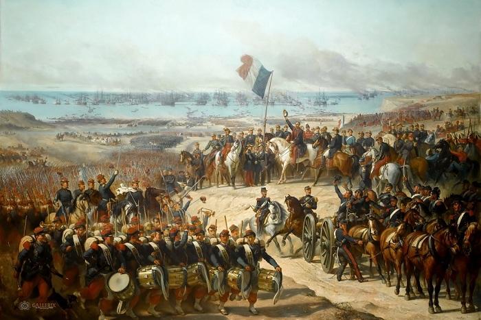 Захват Алжира Францией в 1830 году. | Фото: masterok.livejournal.com.
