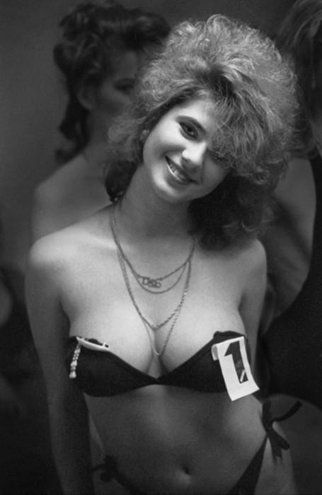 Участница конкурса красоты 1988 года.